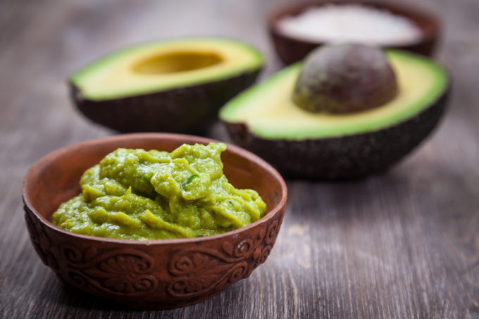 4 Ingredient Easy Guacamole